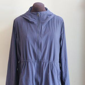 lululemon athletica Jackets & Coats - LULULEMON Studio Zip Front Hooded Lined Jacket 12